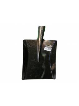 Лопата совковая прямоугольная из рельсовой стали S1 (БТЗ)