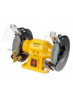 Станок точильный MOLOT MBG 1525 в кор. (250 Вт, круг 150х12.7х16 мм)