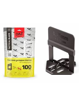 Основа для укладки плитки 0.75 мм (3 - 12 мм) DLS (100 шт в уп.)