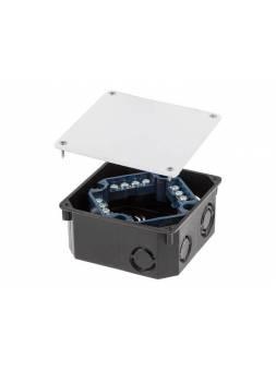 Коробка распаечная СП 100х100х50мм, клеммник, крышка IP20 ЮПИТЕР