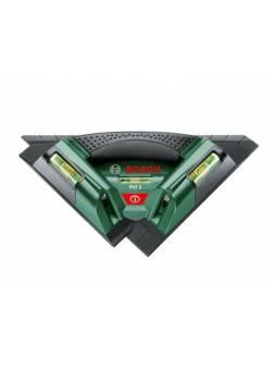Лазер для укладки плитки BOSCH PLT 2 в кор. (проекция: 2 луча, угол 90°, до 7 м, +/- 0.50 мм/м, резьба 5/8
