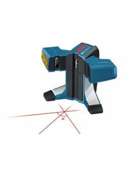 Лазер для укладки плитки BOSCH GTL 3 в кор. (проекция: 3 луча, угол 90°, до 20 м, +/- 0.20 мм/м, резьба 5/8