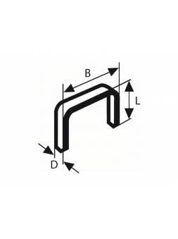 Скобы 14 мм тип 53 ( 1000 шт.) BOSCH