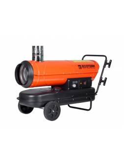 Нагреватель воздуха диз. Ecoterm DHI-30W непрям., 30 кВт, 2 колеса (Мощность 30кВт; Производительность 760 м3/ч; Термостат)