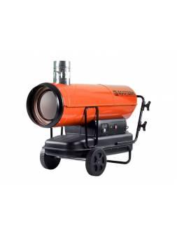 Нагреватель воздуха диз. Ecoterm DHI-50W непрям., 50 кВт, 2 колеса (Мощность 50кВт; Производительность 2000 м3/ч; Термостат)
