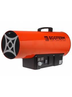 Нагреватель воздуха газ. Ecoterm GHD-50T прям., 50 кВт, термостат, переносной (Мощность 50кВт; Производительность 872 м3/ч; Тип газа: Пропан; Термоста