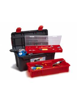 Ящик для инструмента пластмассовый 58x28,5x29см (с лотком и органайзером) (TAYG)