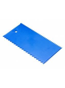 Шпатель пластмассовый зубчатый 101x202мм STARTUL MASTER (ST1141)