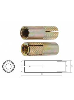 Анкер забиваемый М16х20х65 мм STARFIX