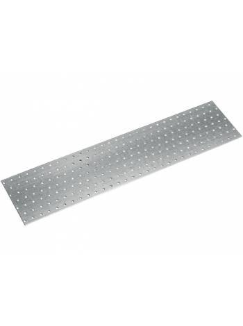 Пластина соединительная 140х600 мм PS белый цинк STARFIX