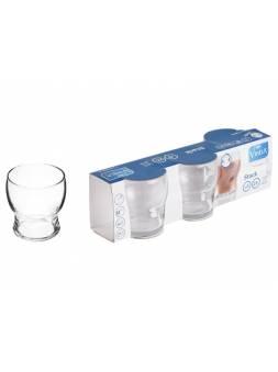 Набор стаканов, 3 шт., 250 мл, 89х80 мм, серия Stack, VINTIA (V057740)