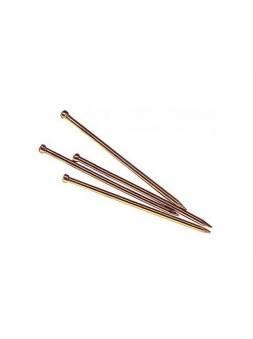 Гвозди финишные 1.4х20 мм бронза (0.2 кг в пласт. конт.) STARFIX