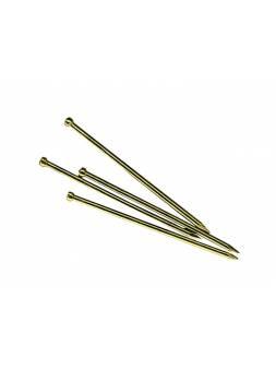 Гвозди финишные 1.2х30 мм латунь (0.2 кг в пласт. конт.) STARFIX