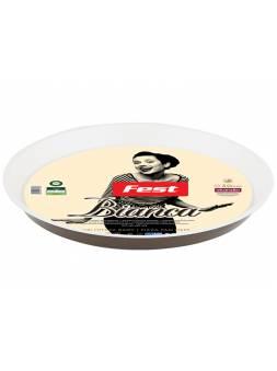 Форма для выпечки, пицца, круглая, 30х3 см, антиприг. покр., серия Bianca, FEST (антипригаоное покрытие Whitford Scandia)