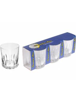 Набор стаканов, 3 шт., 295 мл, 93х80 мм, серия Executive Aqua, DIAMOND (Супер цена!)