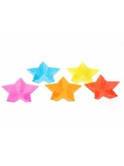 Набор форм для выпечки, силиконовые, звезда, 8 х 3 см, 5 шт., PERFECTO LINEA (Супер цена!)