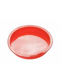 Форма для выпечки, силиконовая, круглая, 24 х 4 см, красная, PERFECTO LINEA