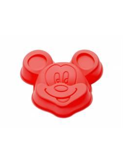 Форма для выпечки, силиконовая, микки, 14 х 13 х 3 см, красная, PERFECTO LINEA