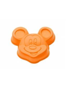 Форма для выпечки, силиконовая, микки, 14 х 13 х 3 см, оранжевая, PERFECTO LINEA