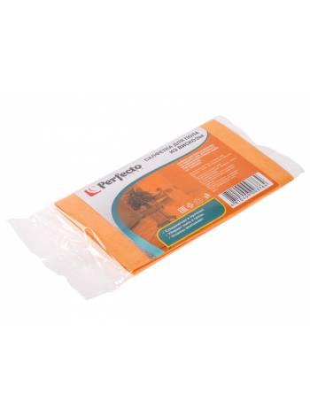 Салфетка бытовая для пола, 50х60 см, вискоза, PERFECTO LINEA