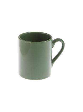 Кружка керамическая, 210 мл, серия Текирдаг, зеленая, PERFECTO LINEA (Супер цена!)
