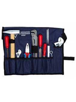 Набор слесаря-сантехника в сумке 12 предметов (НИЗ) (Камышин)
