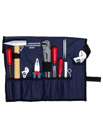 Набор слесаря-сантехника в сумке 12 предметов (НИЗ)