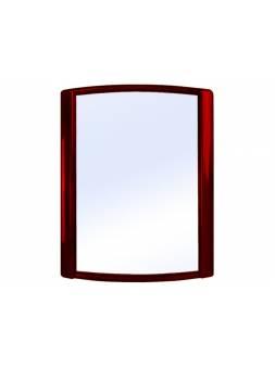 Зеркало Bordo (Бордо), рубиновый перламутр, BEROSSI (Изделие из пластмассы. Размер 479 х 626 м)
