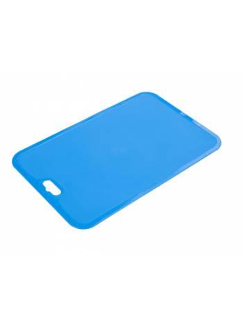 Доска разделочная Flexi (Флэкси), синий, BEROSSI (Изделие из пластмассы. Размер 330 x 214 x 2 мм)