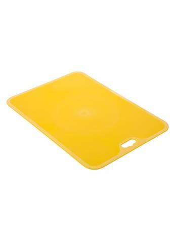 Доска разделочная Flexi XL , оранжевый, BEROSSI (Изделие из пластмассы. Размер 350 х 228 х 2 мм)