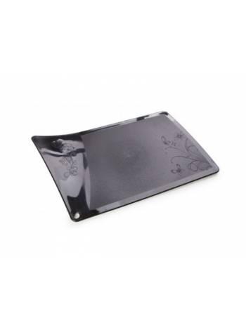 Доска разделочная Rondo (Рондо), черный, BEROSSI (Изделие из пластмассы. Размер 317 х 190 х 5 мм)