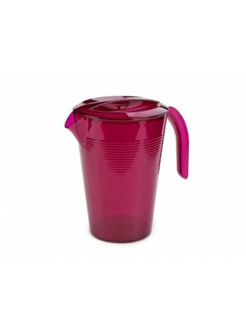 Кувшин Fresh, гранат, BEROSSI (Изделие из пластмассы. Литраж 1.8 литра.   Размер 111 х 146 х 214 мм)