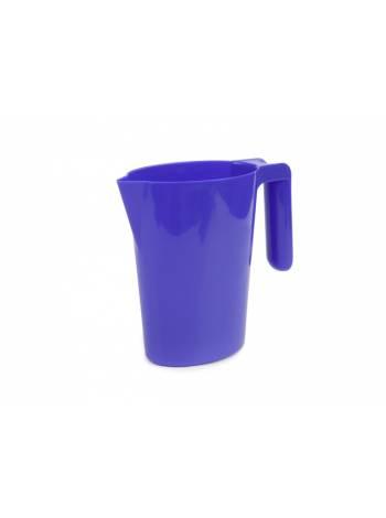 Кувшин Santi (Санти), лазурно-синий, BEROSSI (Изделие из пластмассы. Литраж 1 литр)