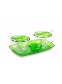 Набор для кухни Fresh, яблоко, BEROSSI (Изделие из пластмассы. Размер 240 х 140 х 95 мм)