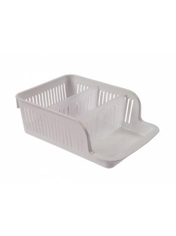 Органайзер для специй Prestige (Престиж), снежно-белый, BEROSSI (Изделие из пластмассы. Размер 230 х 161 х 80 мм)