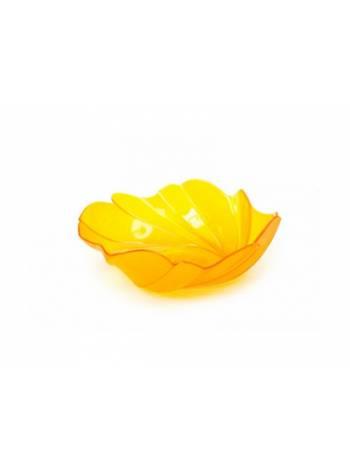 Фруктовница Akri (Акри) 0,4 л, оранжевый полупрозрачный, BEROSSI (Изделие из пластмассы. Литраж 0.4 литра)