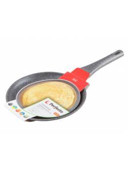 Сковорода блинная ф 24х2.5 см, алюм., антиприг. покр., для индукц. плит, серия Grey, PERFECTO LINEA