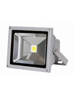Прожектор светодиодный PFL -RGB-C/GR  10w  IP65Jazzway драйвер в комплекте (Настраиваемый Цветной +пульт  в комплекте. серый корпус)