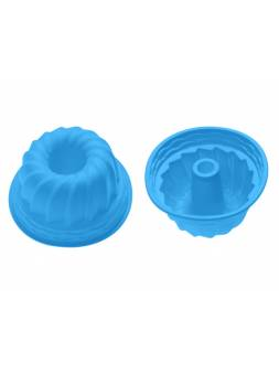Форма для выпечки, силиконовая, кекс, 24 х 10.5 см, голубая, PERFECTO LINEA