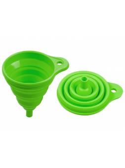 Воронка силиконовая 10,5 х 14,5, зеленая, PERFECTO LINEA