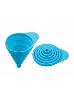 Воронка силиконовая 11 х 7, голубая, PERFECTO LINEA