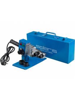 Сварочный аппарат для полимерных труб Solaris PW-601 (600 Вт, 3 насадки: 20, 25, 32 мм)