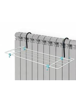 Сушилка для белья на батарею,  2,1м, ширина 45см, NIKA (Сушилка для белья на батарею, ширина 450, 2,1м, размеры 45 * 23,5)