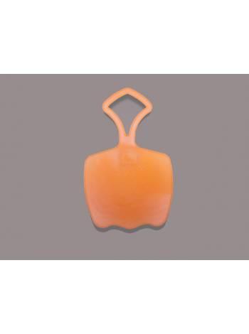 Ледянка Зайка Пластик цвета в ассортименте 40х25см, ТМ Fani Sani (цвета в ассортименте)