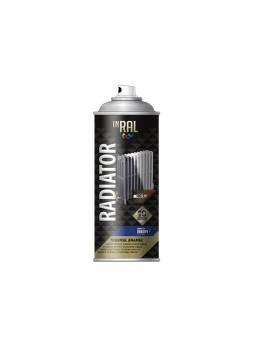 Краска-эмаль аэроз. для радиатора белый INRAL 400мл (Цвет белый.)