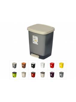 Контейнер для мусора с педалью Luxis (Люксис) 16 л (комплект), DRINA (цвета в ассортименте)