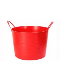 Корзина мягкая 27л (красный) (IDEA)