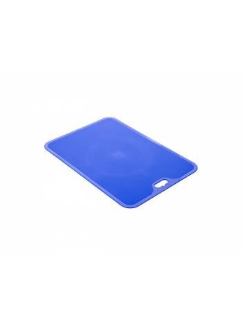 Доска разделочная Funny XL лазурно-синий, BEROSSI (Изделие из пластмассы. Размер  350 х 247 х 2 mm)