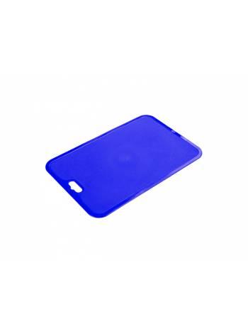 Доска разделочная Funny лазурно-синий, BEROSSI (Изделие из пластмассы. Размер   330 х 214 х 2 мм)
