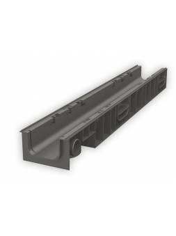 Лоток 100.125 h129 пластиковый, РБ (Дополнительный элемент: Решетка STANDART) (ecoteck)